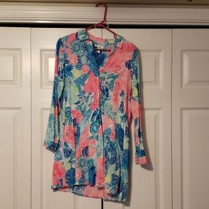 Lilly pulitzer tunic or cover up